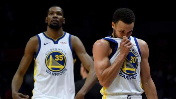 Kevin Durant Has Reply to Steph Curry's Circus Shot