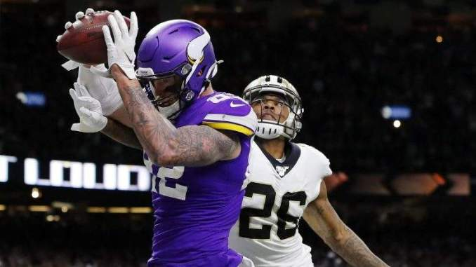 Kyle Rudolph Tried to Recruit Cordarrelle Patterson to Giants