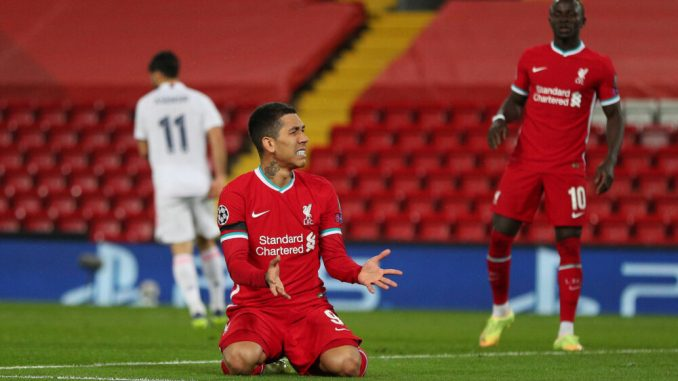 Liverpool forward Roberto Firmino opens up to Brazilian media outlet about difficult season