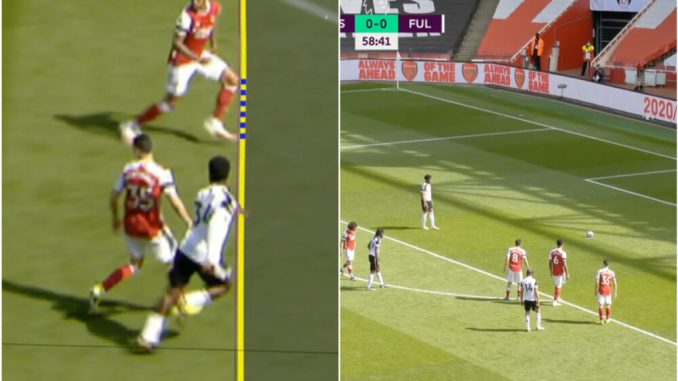 Maja fires past Arsenal after tight Fulham penalty call
