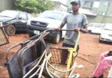 Meet Yazid Surajo, The Master's Degree Holder Who Became A Scavenger In Lagos