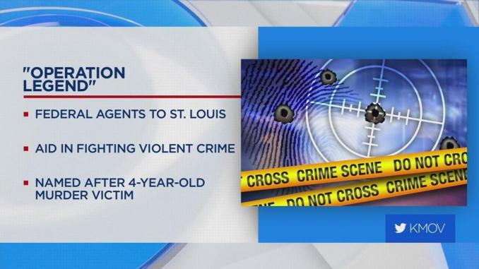 Operation LeGend going to St. Louis in effort to combat crime   US & World News
