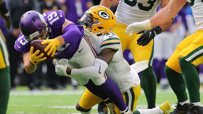 Raiders Working out Ex-Packers CB Lenzy Pipkins: Report
