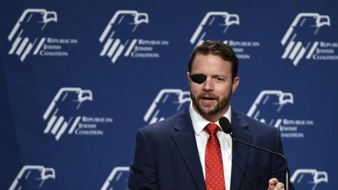 """Rep. Dan Crenshaw Temporarily Blind & Going """"Off The Grid"""" Following Eye Surgery"""