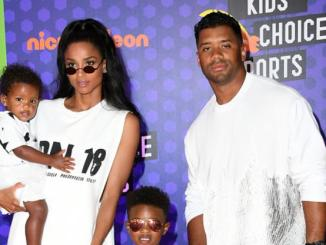 """Russell Wilson Shares Sweet Easter Snap Of He & Ciara's Kids: """"Our Babies"""""""