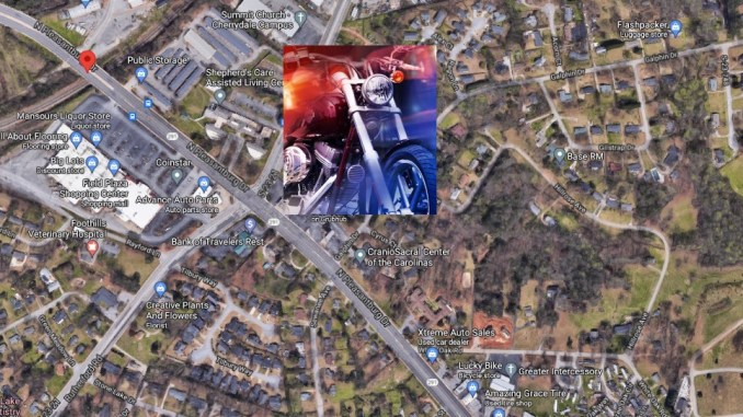 SC Man Jon Hildreth ID'd As Victim In Wednesday Night Greenville Fatal Motorcycle Crash