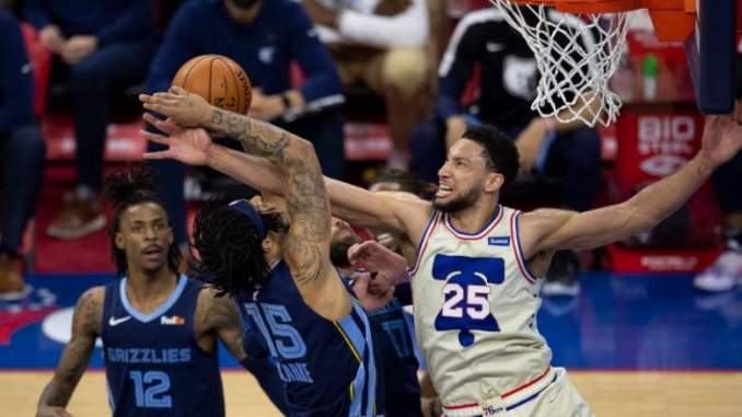Sixers' Simmons Aiming for Defensive Dominance