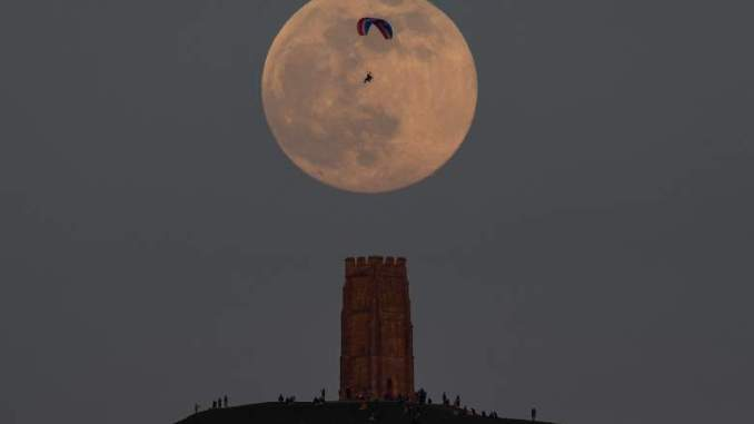 Supermoon Brings Heightened Risk of Tidal Flooding