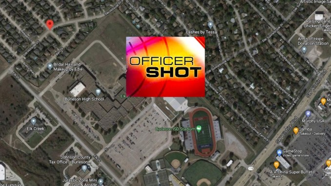 TX Police Officer Shot Multiple Times Wednesday During Burleson Traffic Stop