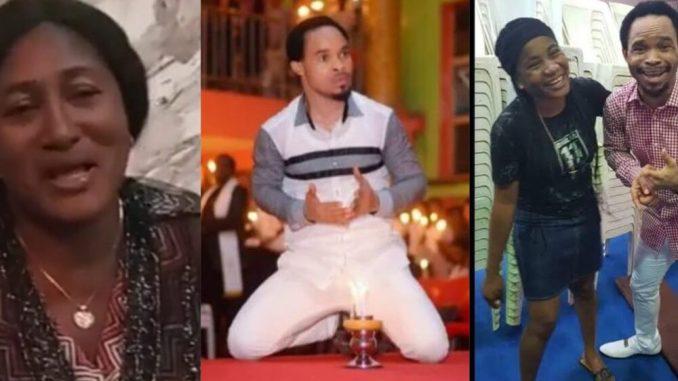"""""""Tell Pastor Odumeje to send his bank account number so we can transfer his money to him"""" – Ada Jesus's mother (Video)"""