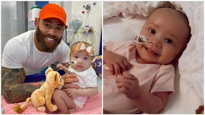 The Challenge's Ashley Cain's Daughter Dies of Leukemia