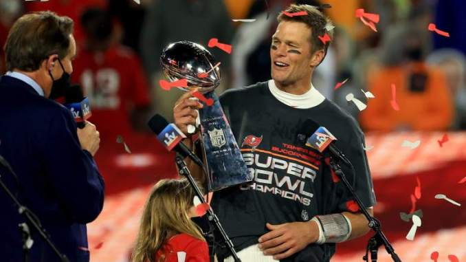 Tom Brady Reveals Opinion of Tossing the Lombardi Trophy