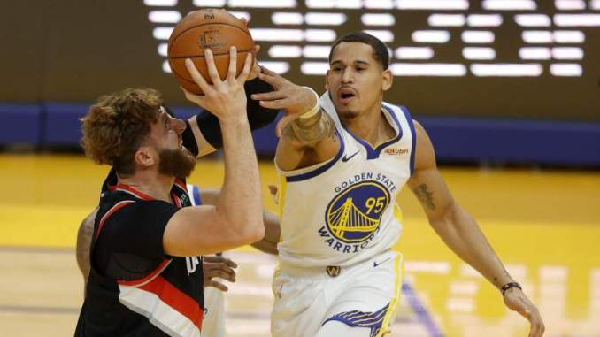 Warriors Forward Says He's 'Lucky to Be Here' After Scary Injury