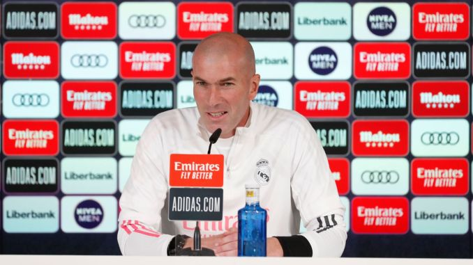Chelsea vs Real Madrid: Zidane reveals approach to UCL tie at Stamford Bridge