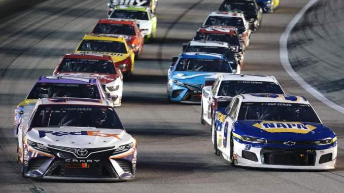 Incredible Battles Between Top Drivers Highlight NASCAR Race at Kansas