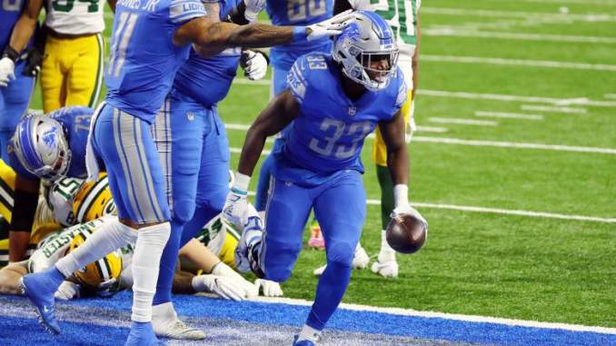 Kerryon Johnson Perplexed by Names of New Lions Teammates