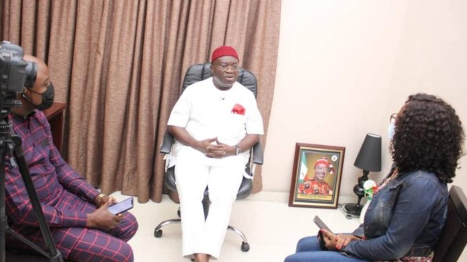 Our security strategy is working, we have transformed Aba - Abia Gov, Ikpeazu [Interview]