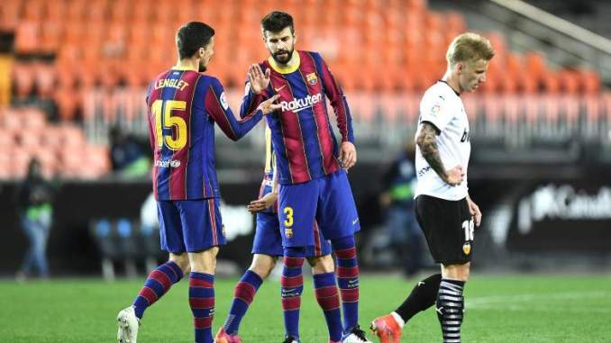 Pique Speaks Out After Barcelona's Crucial Win At Valencia