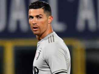 Serie A: Nigerian striker laments after Ronaldo refuses to swap shirt with him