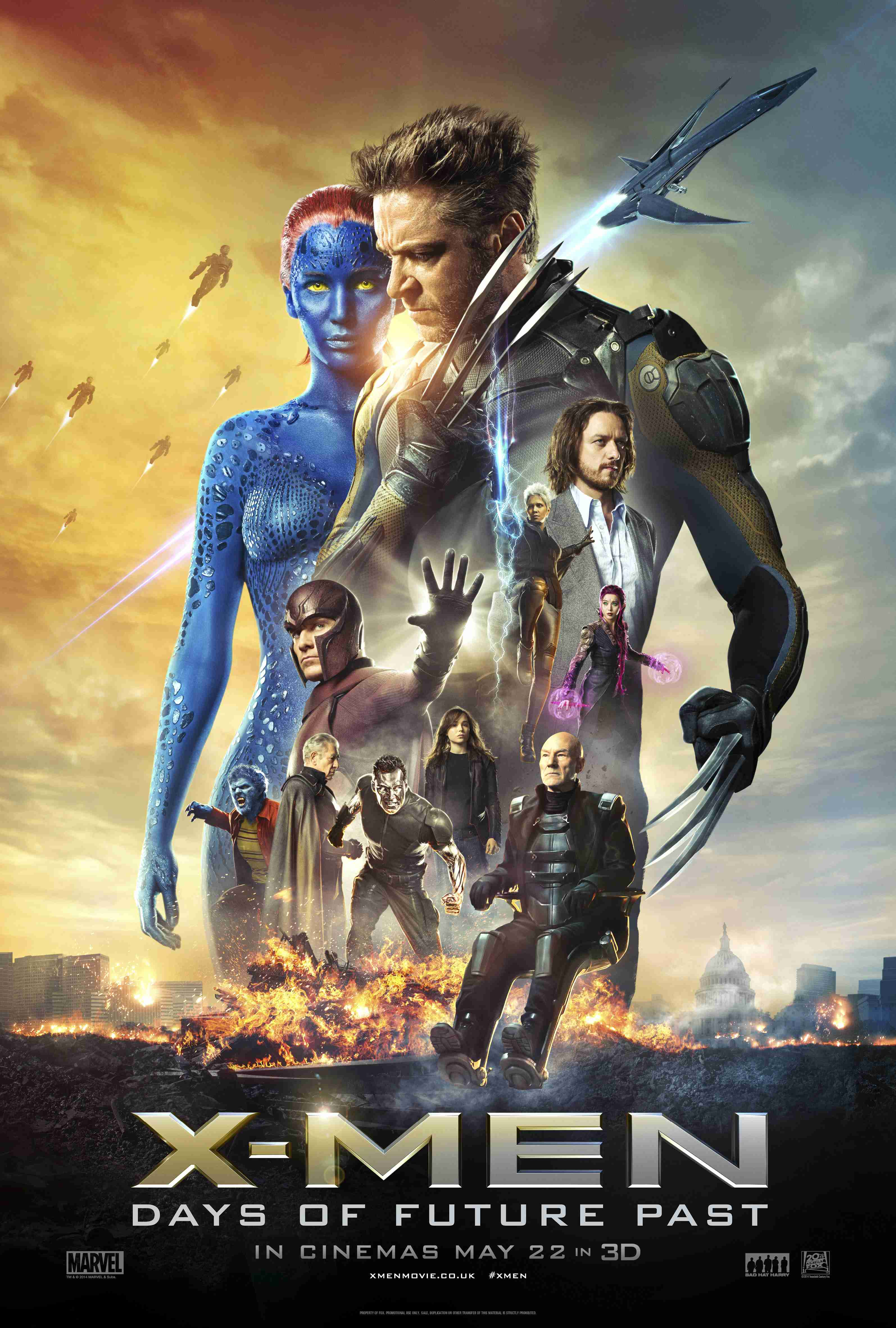 X-MEN: DAYS OF FUTURE PAST: New Official Trailer and ...