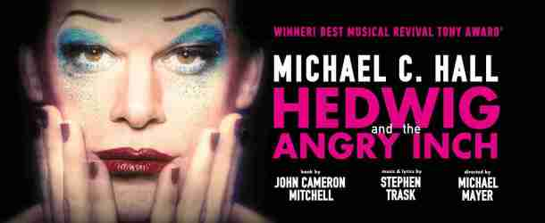 "Michael C. Hall Starts Performances Tonight in ""Hedwig and the Angry Inch""‏"