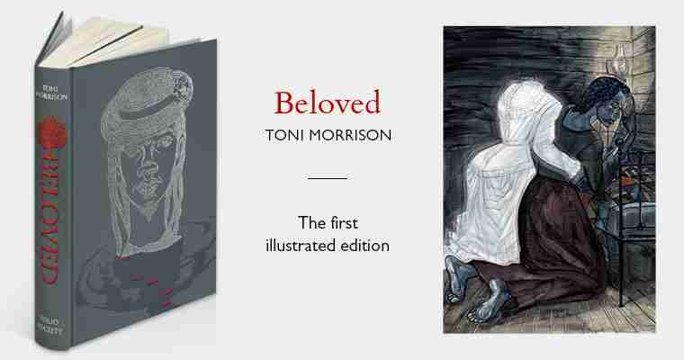 the arts shelf competition win a toni morrison signed folio  competition win a toni morrison signed folio society edition of beloved