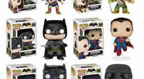 Funko commemorates Batman v Superman with a variety of new figures