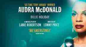 Audra McDonald brings 'Lady Day at Emerson's Bar & Grill' to London's Wyndham's Theatre