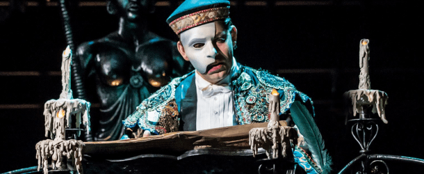 Ben Forster Extends His Run as 'The Phantom' in London's 'THE PHANTOM OF THE OPERA'