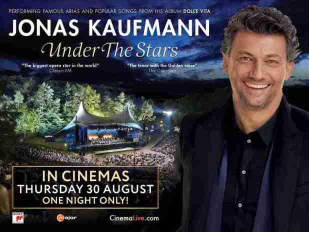 The Arts Shelf – 'Jonas Kaufmann: Under the Stars' to be