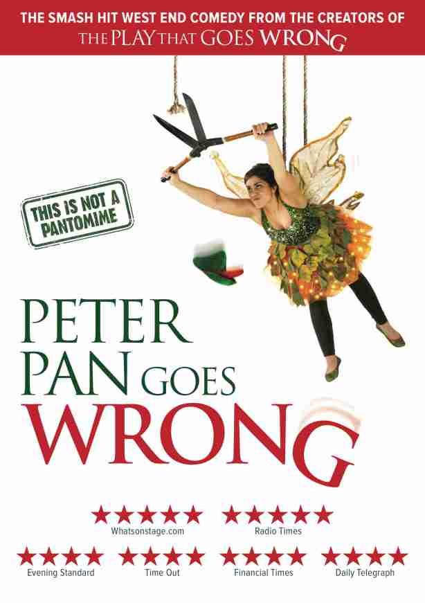 Mischief Theatre Company Christmas 2020 Mischief Theatre announce new national tour of 'Peter Pan Goes