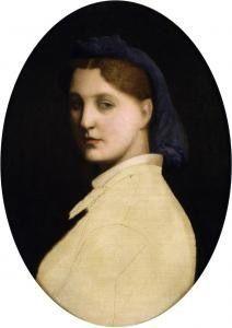 <i>Portrait of a Lady</i> is Gérôme's portrait of his young bride (c. 1865)