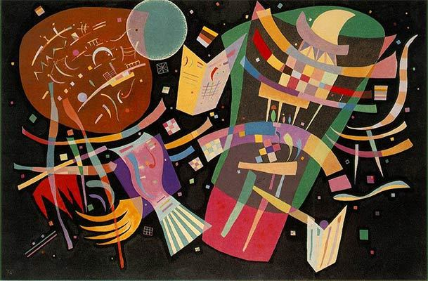 Wassily Kandinsky Most Important Art   TheArtStory Composition X  1939