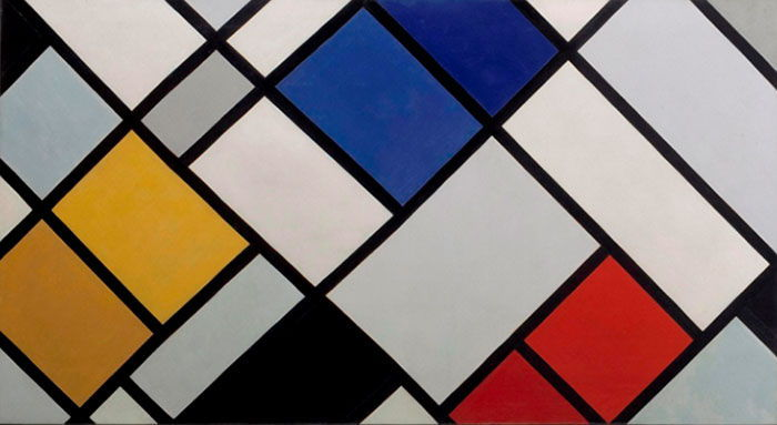 Theo van Doesburg Most Important Art   TheArtStory Counter Composition in Dissonance 16  1925