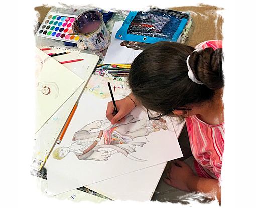 1-Session- AGES 9-12: KIDS/TEENS DRAWING CLASS - The Art ...