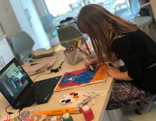 Online Art classes for kids