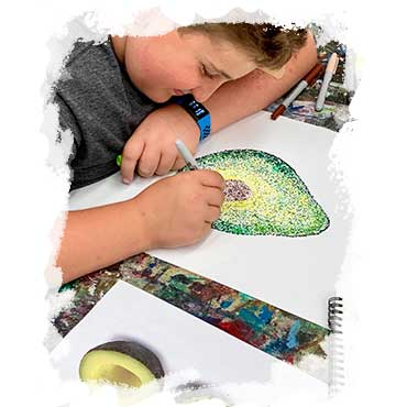 The Art Studio NY ONLINE Summer Drawing, Painting Art Camps for Kids