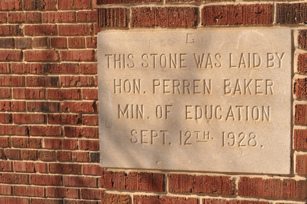 the artyologist image of corner stone of school