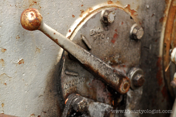 the artyologist- image of massey ferguson engine lever