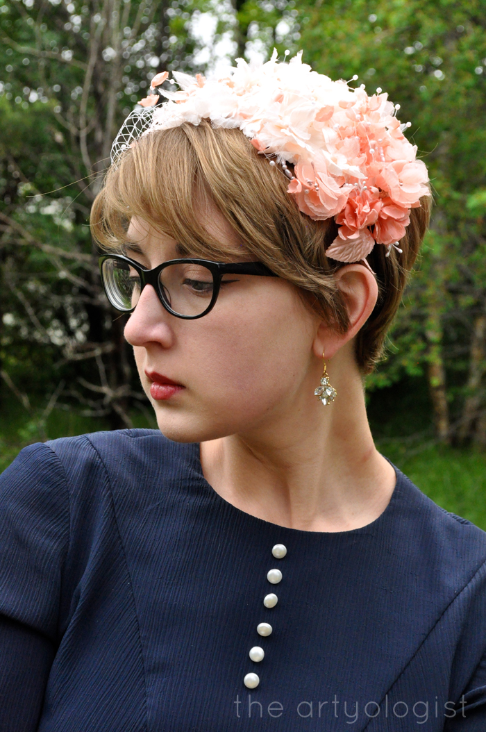image of flower covered hat and simplicity 1777 the artyologist