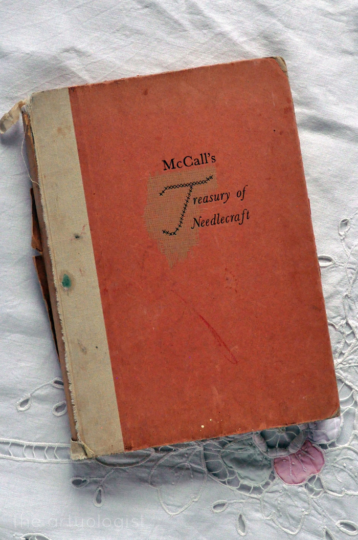 McCall's Treasury of Needlecraft front cover the artyologist