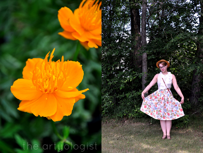 the entirely recycled fabric skirt the artyologist