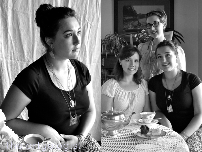 sarah and tea party the artyologist