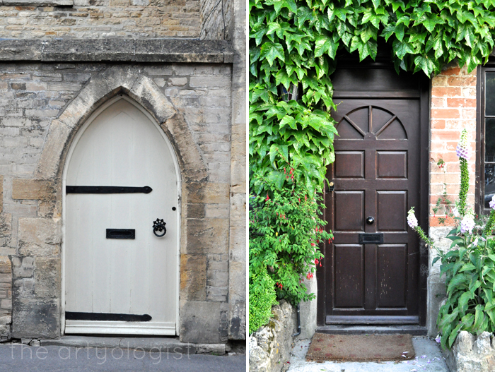 two doors, with vines the artyologist