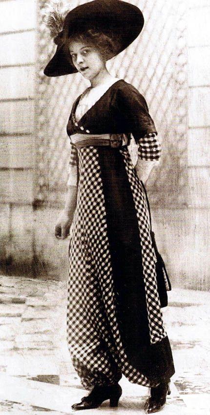 1910's Harem Pants