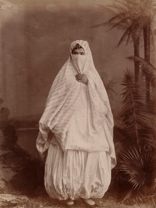 Algerian Lady in Traditional Dress
