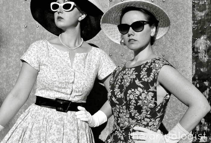 A 1950's Mode en France Inspired Shoot The Artyologist