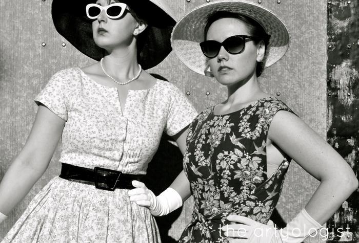 A 1950's Mode en France Inspired Shoot The Artyologist