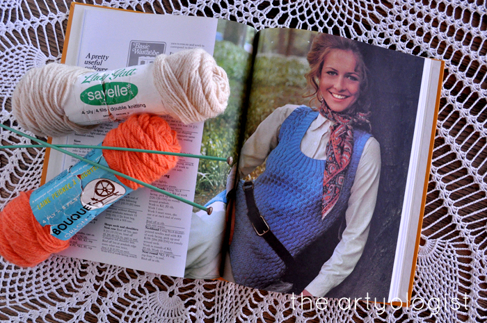 A Fashion Moment with Creative Hands, the artyologist, blue vest