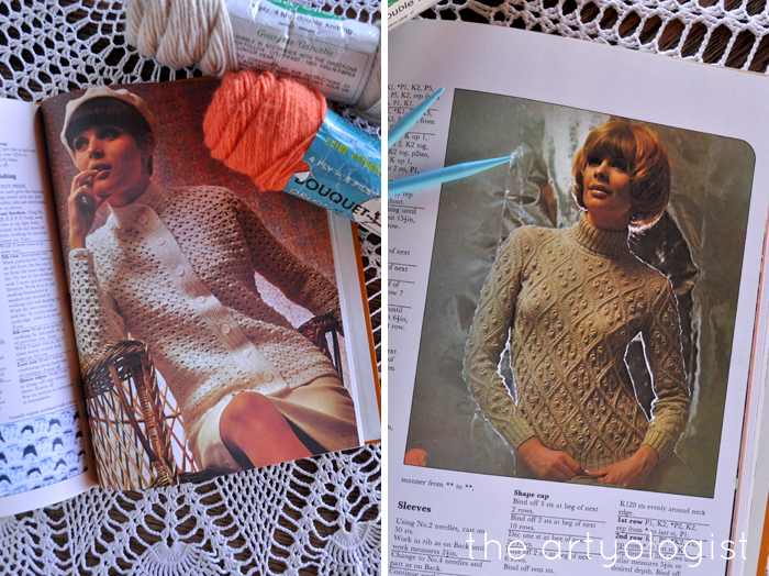 A Fashion Moment with Creative Hands, the artyologist, two tan knitwear